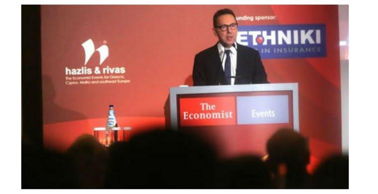 Τί είπε ο Στουρνάρας για τα ασφαλιστικά ταμεία και την ιδιωτική ασφάλιση σε συνέδριο του Economist