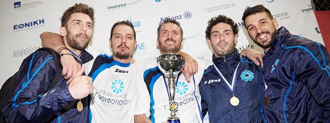 Η «Επιθεώρηση Φουφόπουλος», μεγάλη νικήτρια του Πρωταθλήματος Ποδοσφαίρου Ασφαλιστικών Εταιρειών 2018