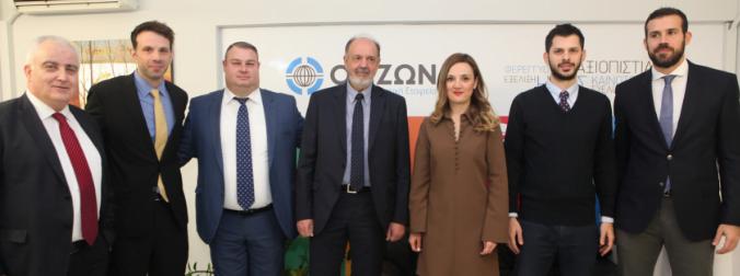 Εγκαίνια του νέου υποκαταστήματος της ΟΡΙΖΩΝ ΑΣΦΑΛΙΣΤΙΚΗΣ στη Θεσσαλονίκη