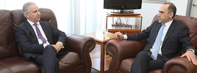 Υπουργός Οικονομικών Κύπρου: Σημαντική και ποιοτική για την Κύπρο η επένδυση της CNP ASSURANCES