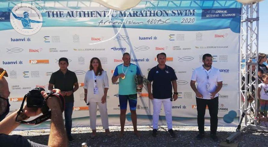 NP Ασφαλιστική: Μεγάλη Χορηγός στον 1ο Αυθεντικό Μαραθώνιο Κολύμβησης 2020 στο Πευκί στη Β. Εύβοια